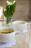 Morning tea Royalty Free Stock Image