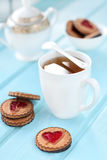 Morning tea cup Royalty Free Stock Image
