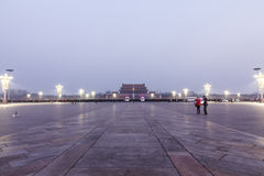Morning of Tiananmen Square Stock Image