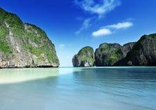 Morning time at  Maya bay, Phi Phi Leh island Stock Images