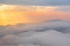 morning time at Phu Tub Berk Stock Image