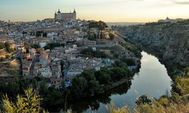 Morning of  Toledo, Spain Royalty Free Stock Photos