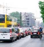 Morning traffic Stock Photo