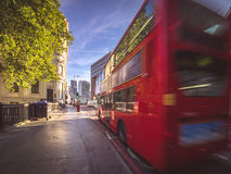 Morning traffic in London Royalty Free Stock Image