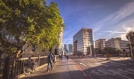 Morning traffic in London Royalty Free Stock Images