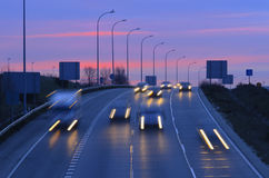 Morning traffic Royalty Free Stock Photo