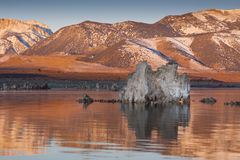 Morning Tufa Reflections Royalty Free Stock Photos
