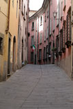 Morning in the Tuscan town. Stock Photography