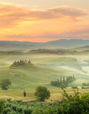 Morning in Tuscany royalty free stock images