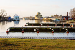 Morning in Vagga marina Stock Photo