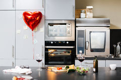 Morning of Valentine day Stock Images