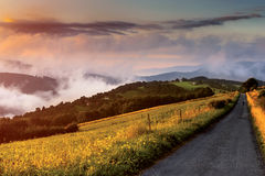Morning in a valley Royalty Free Stock Photography