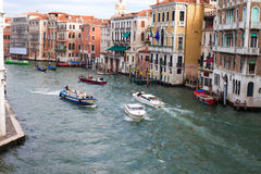 Morning in Venice,  Italy. Royalty Free Stock Photo