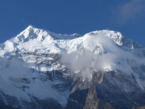 Morning view of Annapurna Stock Image