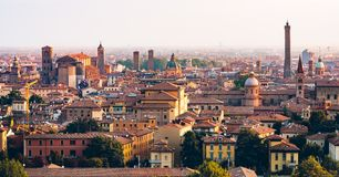 Bologna Morning View royalty free stock photography