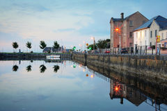 Morning view on Claddagh, Galway Stock Image