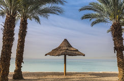 Morning view on the gulf of Aqaba near Eilat Stock Photography