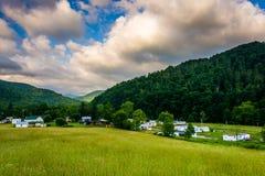 Morning view of Harman, West Virginia. Stock Photos
