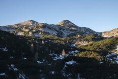 Morning view from Komna. Julian Alps Stock Photo