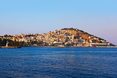 Morning view of Kusadasi Turkey Stock Image