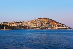 Morning view of Kusadasi Turkey. Travel background Stock Image