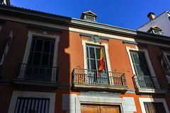 Free Morning View Of Museum Of Romanticism In City Of Madrid Stock Photos - 150166293