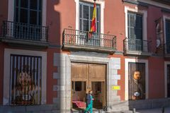 Free Morning View Of Museum Of Romanticism In City Of Madrid, Spain Stock Photos - 125326293