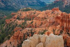 Free Morning View Of The Famous Bryce Canyon National Park From Inspiration Point Stock Photos - 151139423
