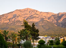 Morning view of Taurus mountains Stock Photography
