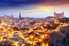 Morning view of Toledo Stock Image