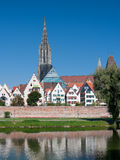 Morning view on Ulm Royalty Free Stock Photo