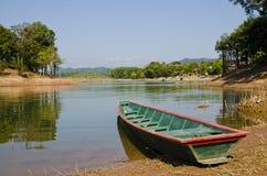 Morning View of Vangvieng, Laos Stock Photo