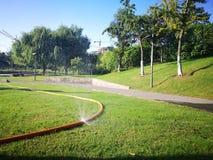Morning view in wuhu shenshan garden Royalty Free Stock Image
