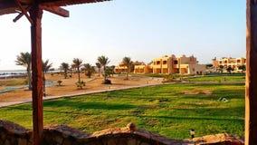 Morning. At the Wadi Lahmy Azur Resort Royalty Free Stock Photos