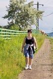 Morning walk Royalty Free Stock Image