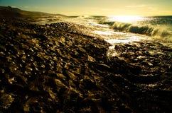 Morning waves Stock Photo