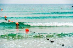 Morning Waves III royalty free stock images