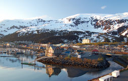 Morning at Whittier, Alaska royalty free stock photo