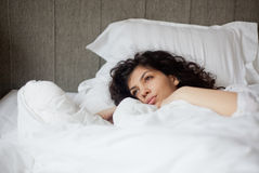 Morning woman Stock Photo