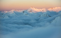 Morning wonder in mountains Royalty Free Stock Photography
