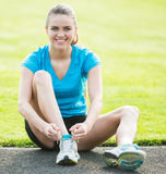Morning workout Stock Images