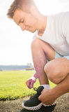 Morning workout Stock Image