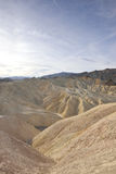 Morning at Zabriskie Point, Death Valley Royalty Free Stock Image