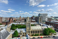 Morningside Heights - New York Royalty Free Stock Photos