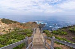 Mornington peninsula attractions at Cape Schanck Stock Image