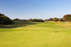 Mornington Peninsula Golf Course Stock Image