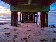 Mornington peninsula jetty Royalty Free Stock Images