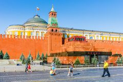 Morninig photosession on Red Square Royalty Free Stock Photo