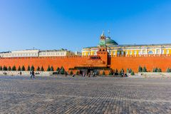 Morninig on Red Square Royalty Free Stock Images