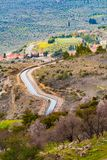 Mornos-Flusskanal in Attica Greece Lizenzfreie Stockfotografie